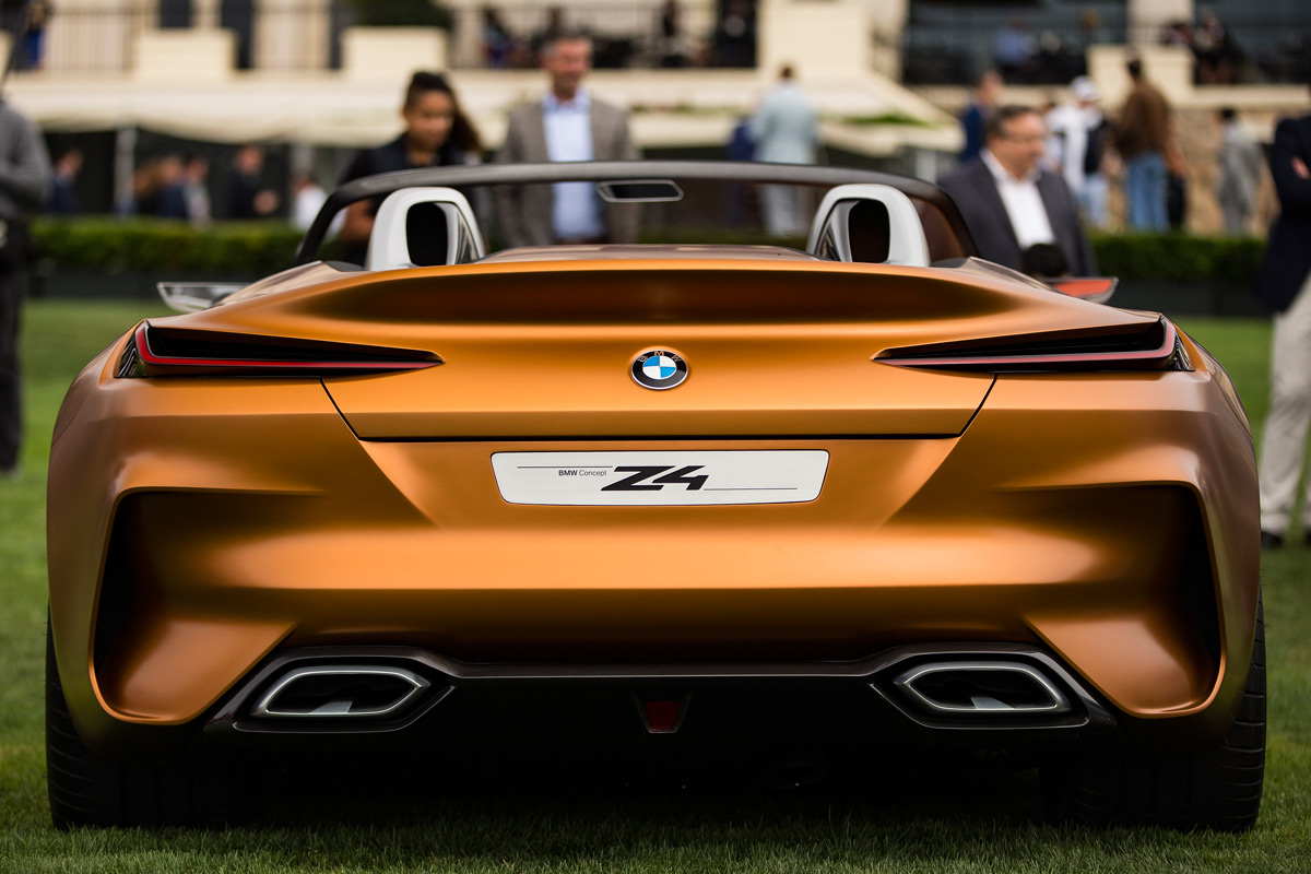 Gorgeous Bmw Concept Z4 Makes Its Debut At Pebble Beach