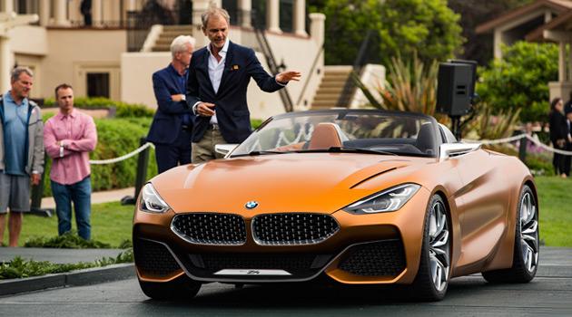 Gorgeous BMW Concept Z4 Makes Its Debut At Pebble Beach