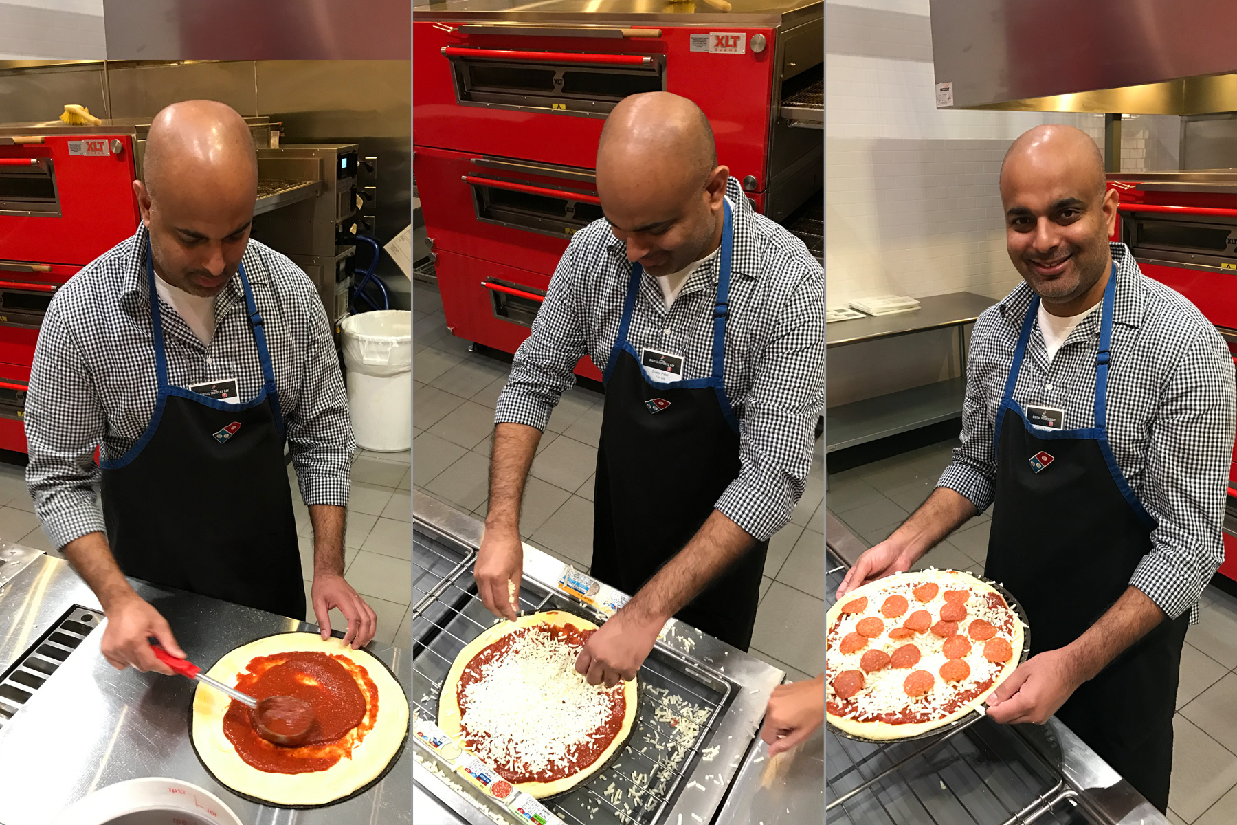 Domino's - Sujeet Making Pizza