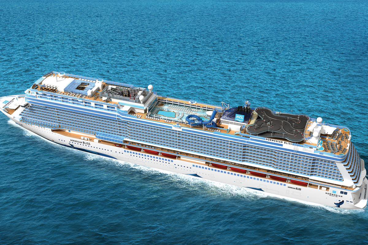 Norwegian Bliss - Aerial View