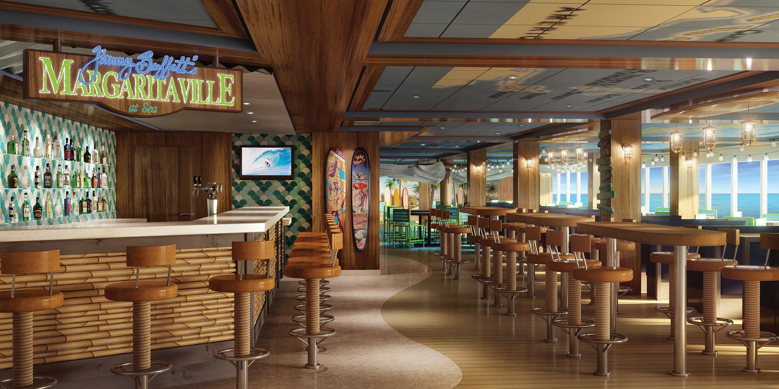 Norwegian Bliss - Margaritaville