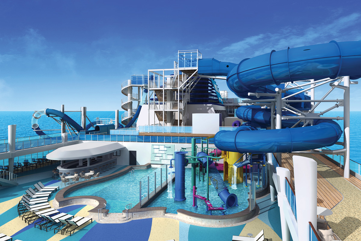Norwegian Bliss - Aqua Park