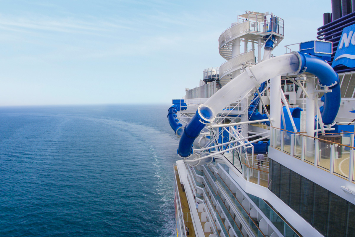 Norwegian Bliss - Water Slide