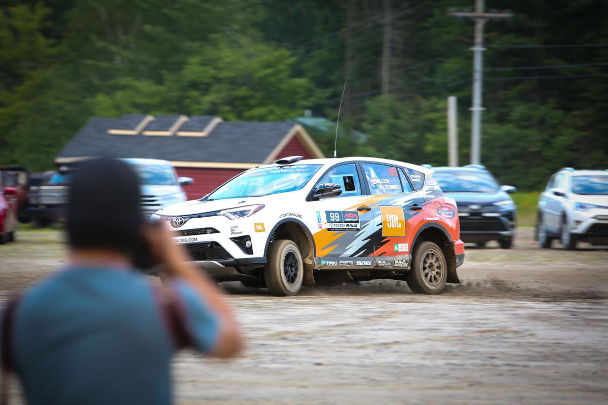 Rally RAV4 - Ride Along With Ryan Millen