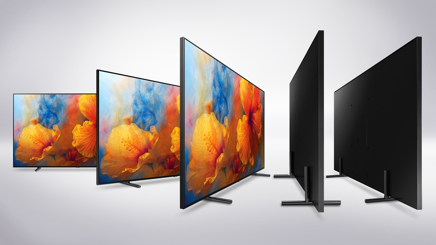 Samsung's QLED TV lineup