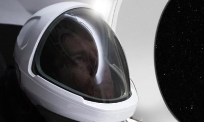 The First Photo Of The New SpaceX Spacesuit