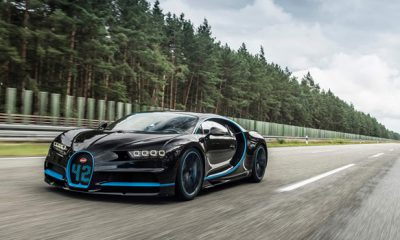 Bugatti Chiron 0-400-0 km/h World Record