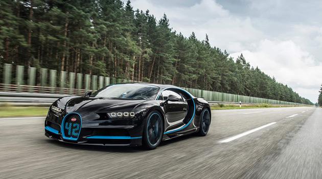 Bugatti Chiron 0-400-0 km/h World Record