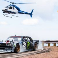 Watch Ken Block's Death-Defying Run Up Pikes Peak In 'Climbkhana'
