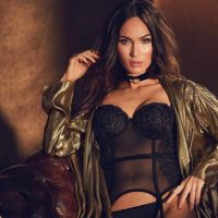 Megan Fox Brings The Heat In Frederick's Of Hollywood Lingerie Campaign