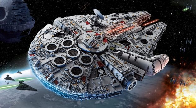The LEGO Star Wars Millennium Falcon Is Their Biggest Set Ever