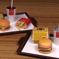 How Cool Are These Miniature McDonald's Meals?
