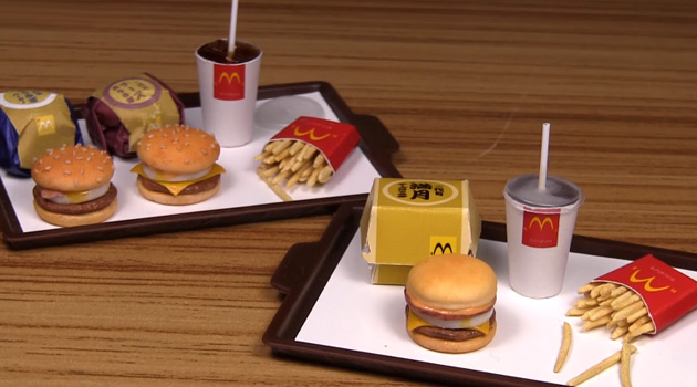 Miniature McDonald's Meals