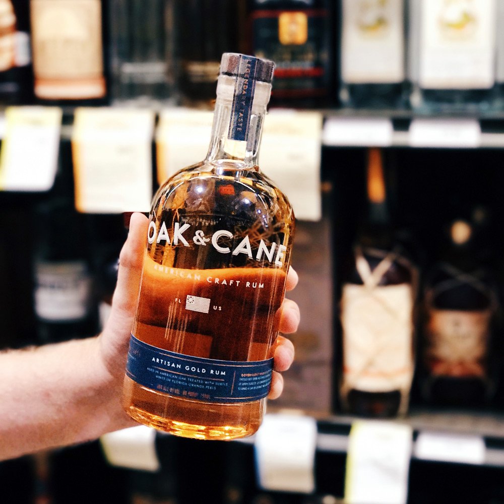 Oak & Cane American Craft Rum