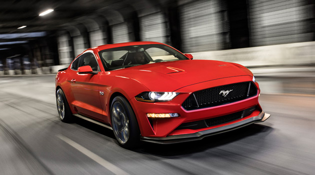 The 2018 Mustang GT Performance Pack Level 2 Takes Aim At Camaro SS 1LE