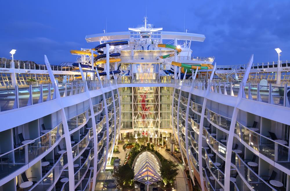 Royal Caribbean's Symphony of the Seas to największy statek wycieczkowy świata