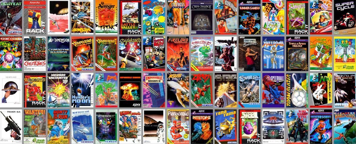 THEC64 Mini Games