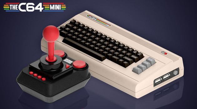 Who's Ready To Relive Their Childhood With The Commodore 64 Mini?