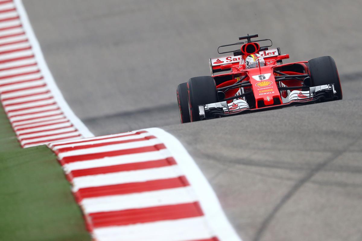 2017 USGP - Sebastian Vettel