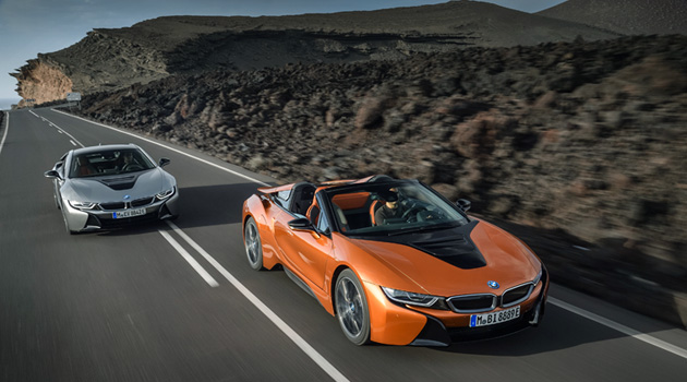 The 2019 BMW i8 Roadster Makes Its World Debut In Los Angeles