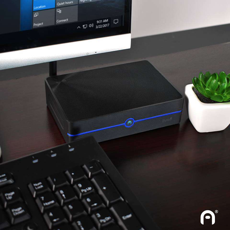 Byte3 Fanless Mini Desktop PC
