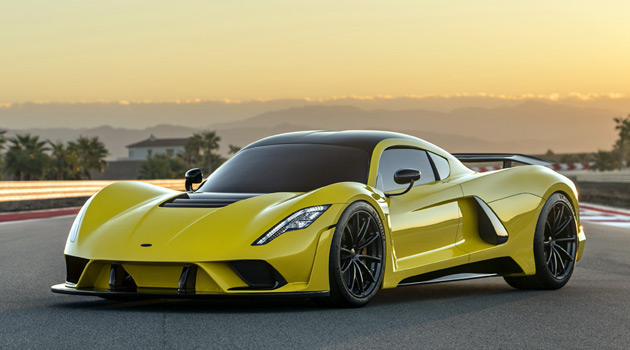The $1.6 Million Hennessey Venom F5 Was The Star Of The SEMA Show