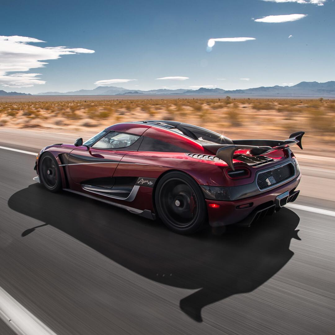 The Koenigsegg Agera RS Just Set A Top Speed Record Of 277
