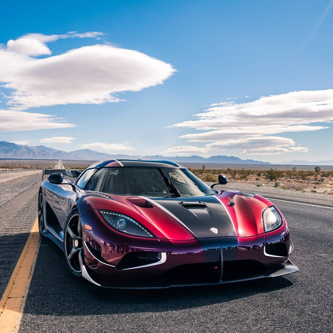 Koenigsegg Agera RS Top Speed Record