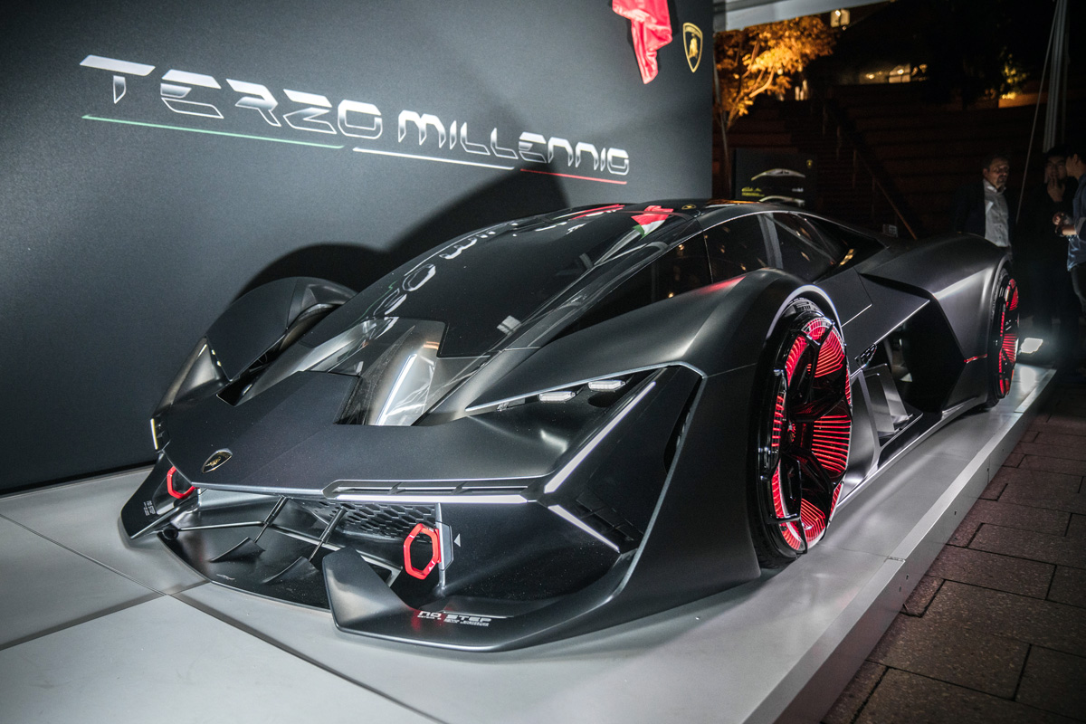 The Lamborghini Terzo Millennio Is An Electric Supercar