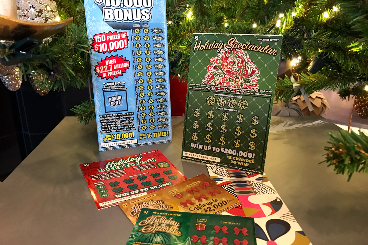New Jersey Lottery Holiday Instant Games