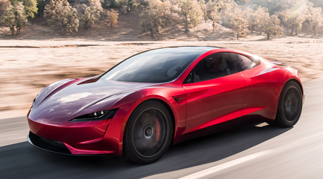 New Tesla Roadster Sprints From 0-60 In 1.9 Seconds, Has A Top Speed Of 250MPH
