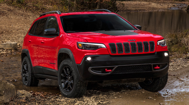 Introducing the 2019 Jeep Cherokee, Now With Less Ugly