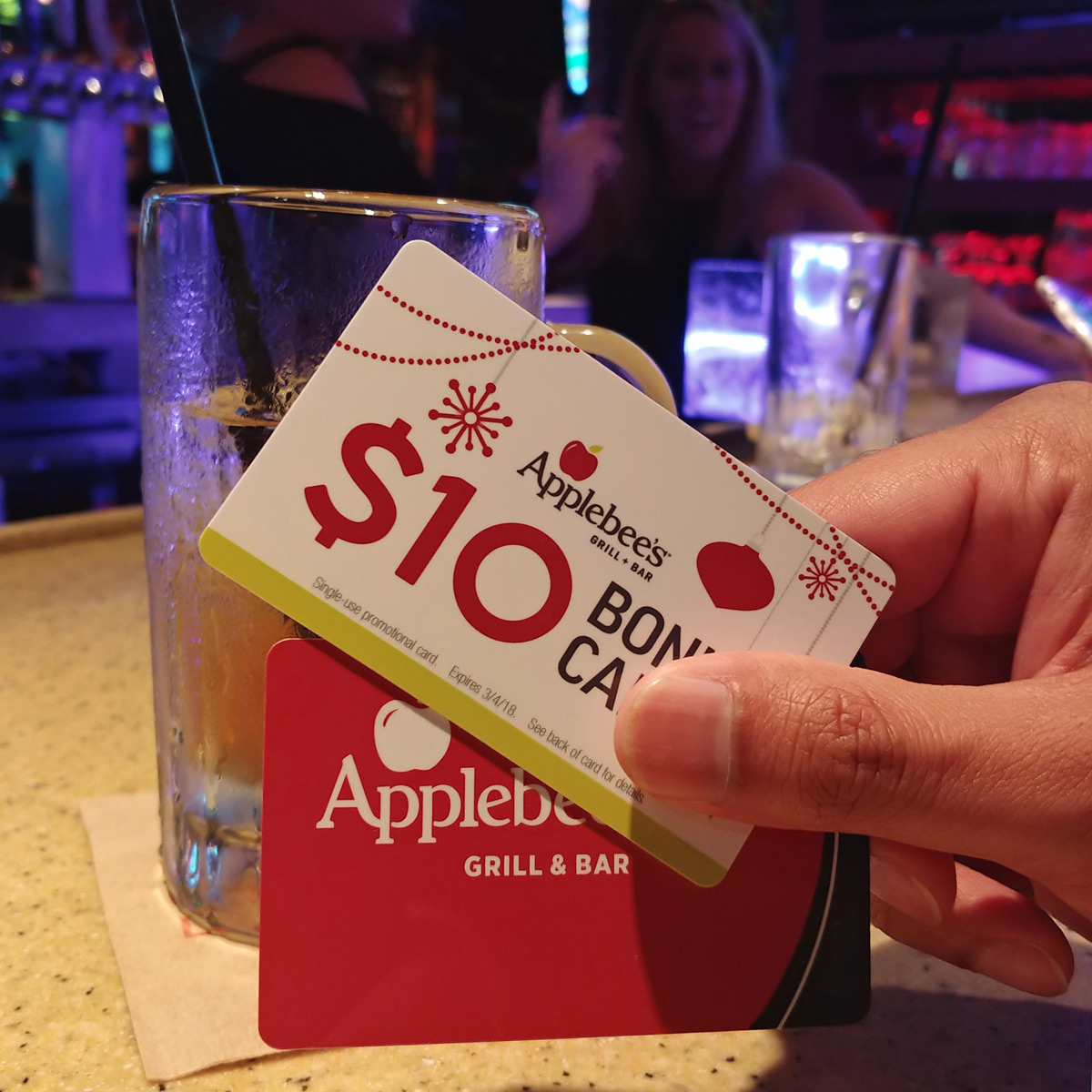 Applebee's Holiday Gift Cards