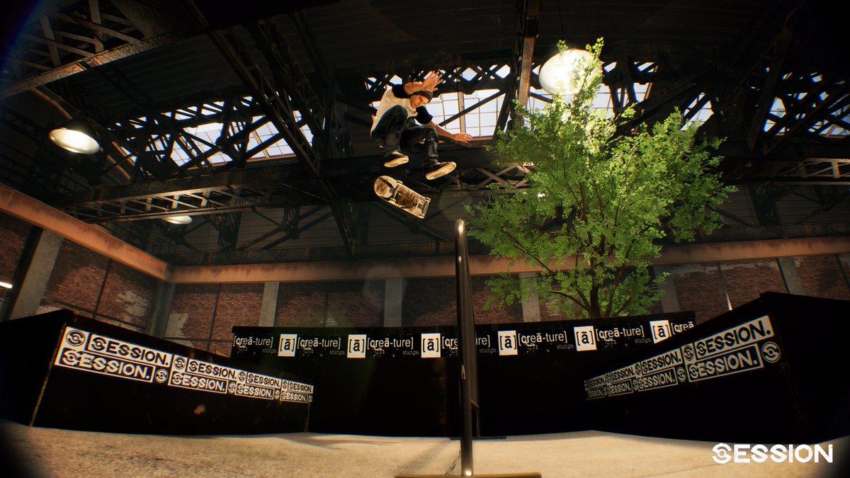 Session Skateboarding Game