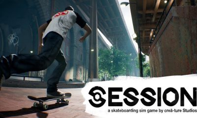 Session Skateboarding Sim