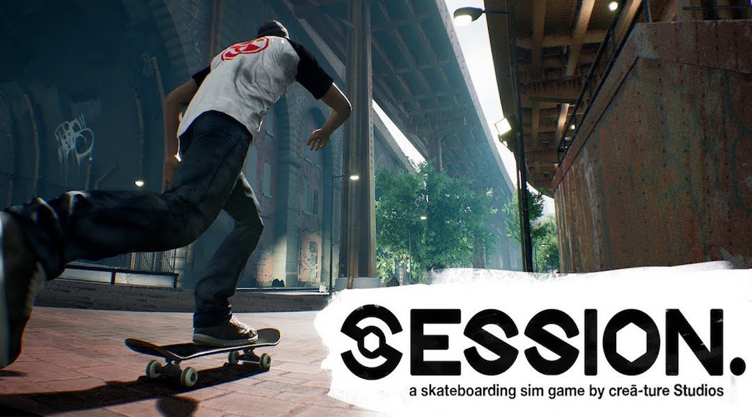 Session Skateboarding Sim