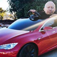 Verne Troyer Got Himself A Sweet Little Tesla Model S For Christmas
