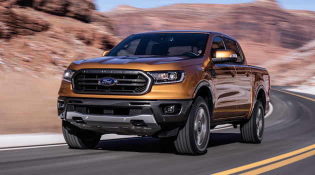 2019 Ford Ranger makes its world debut