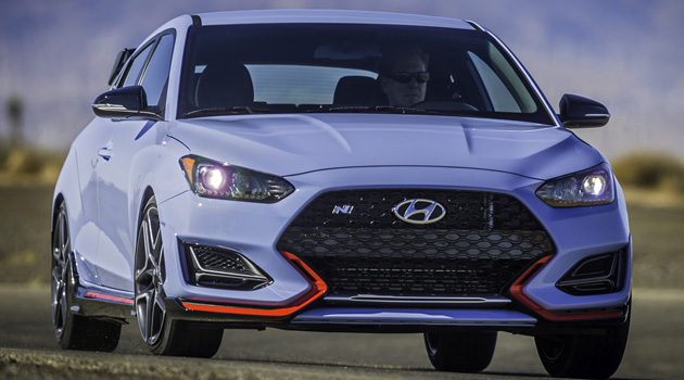 The 2019 Hyundai Veloster N Is One Seriously Hot Hatch