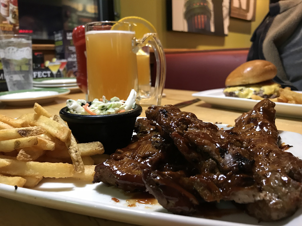 Applebee's All-You-Can-Eat Riblets