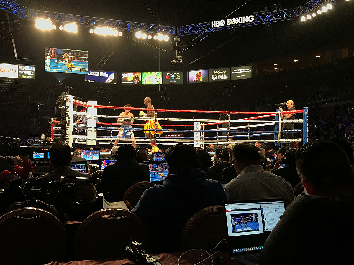 Boxing Match at Mandalay Bay