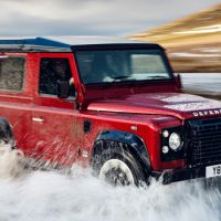 Land Rover Celebrates 70th Anniversary With 400HP Defender Works V8