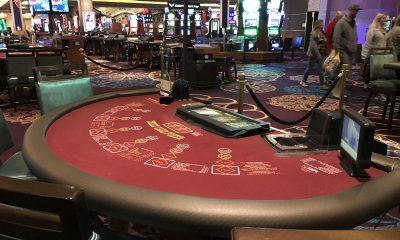 Las Vegas blackjack table