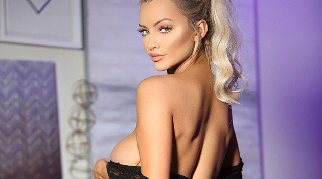 Check Out These Scorching Hot Pics From Lindsey Pelas' Lingerie Photo Shoot