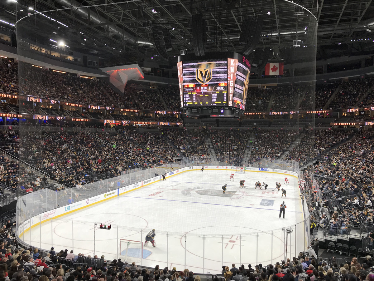 Vegas Golden Knights game at T-Mobile Arena
