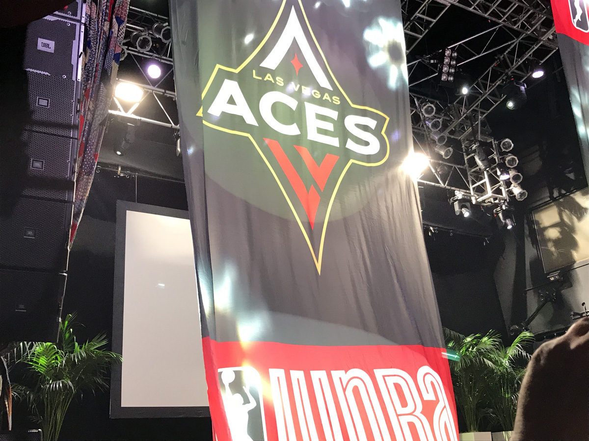 WNBA Las Vegas Aces Press Conference