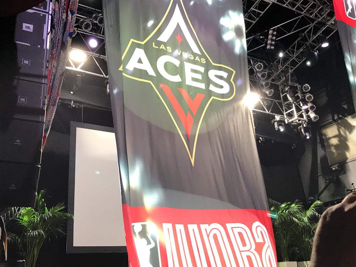 WNBA Las Vegas Aces Press Conference