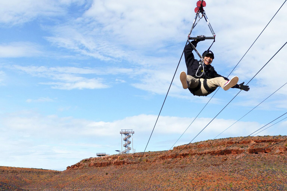 The Zip Line at Grand Canyon West