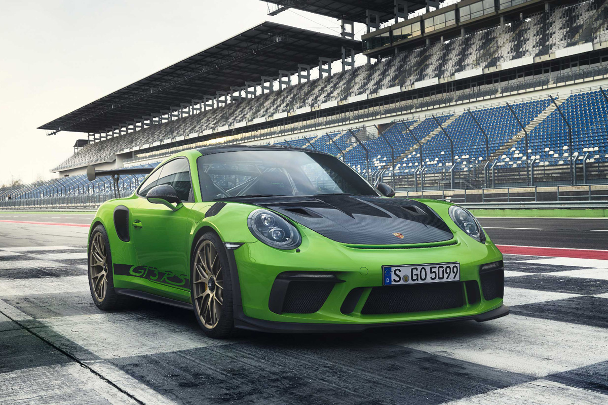 Introducing The 2019 Porsche 911 Gt3 Rs