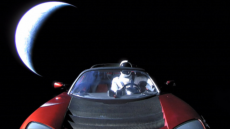 Falcon Heavy - Starman
